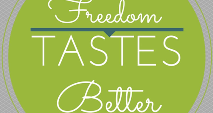 Freedom Tastes Better GIVEAWAY!